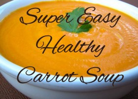 Caroline's Easy Carrot Soup Recipe