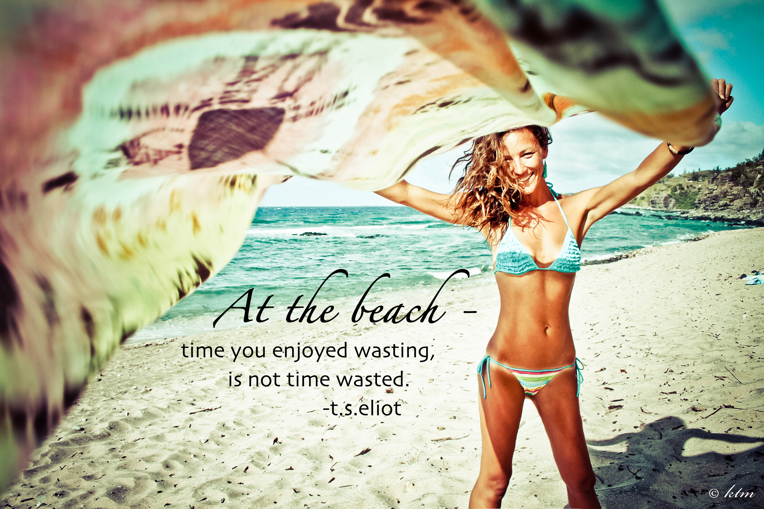 Summer Beach Quote - At the Beach Quote