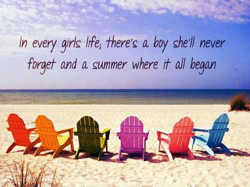 Summer Beach Quote
