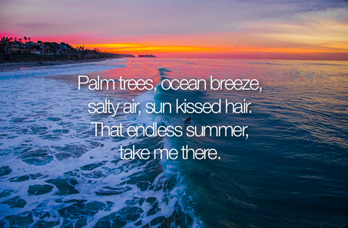 Summer Beach Quote Ocean Breeze Quote