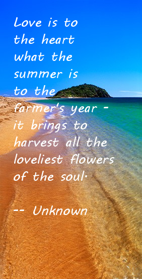Summer Beach Quote - Ocean Quote
