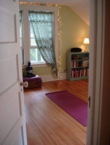 Yoga Meditation Interior Design Photo 2