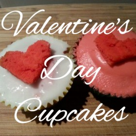 Caroline&#8217;s Valentine&#8217;s Day Cupcakes