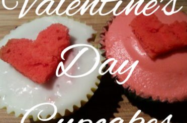 Caroline's Valentine's Day Cupcakes