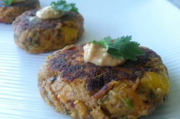 Clean Sweet Potato Tuna Patties
