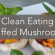 Clean Eating Stuffed Mushrooms Recipe