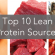 Top Ten Lean Protein Sources