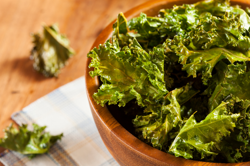 Baked Kale Chips Recipe by Caroline Bakker