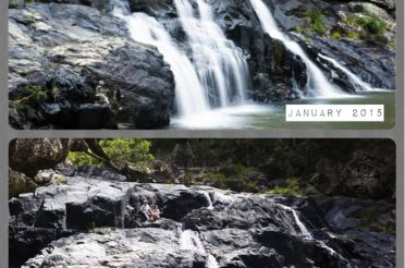 Booloumba Falls in the Conondale National Park
