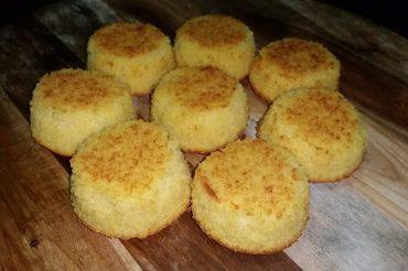 Healthy Lemon Polenta Cup Cakes