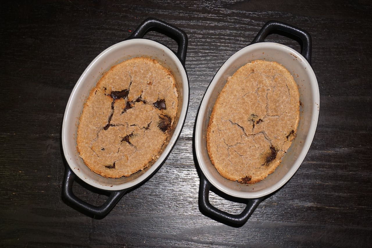 Choc Chip Protein Cakes