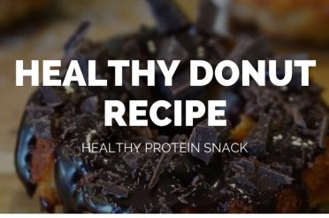 Healthy Low Fat Protein Donut Recipe