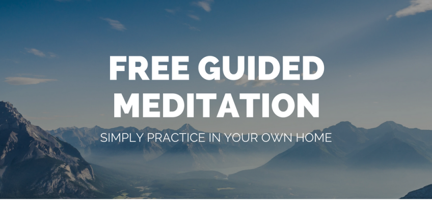 My Favourite Free Guided Meditation